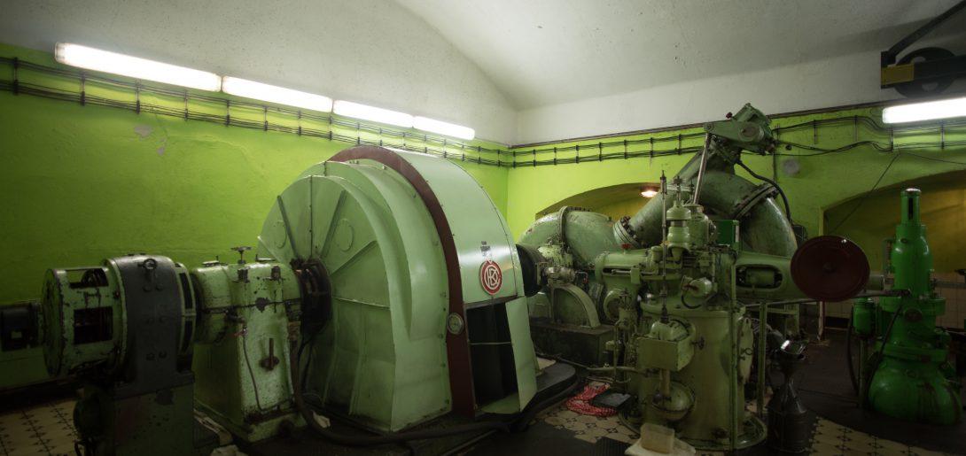 Podzemná elektráreň IV. stupeň